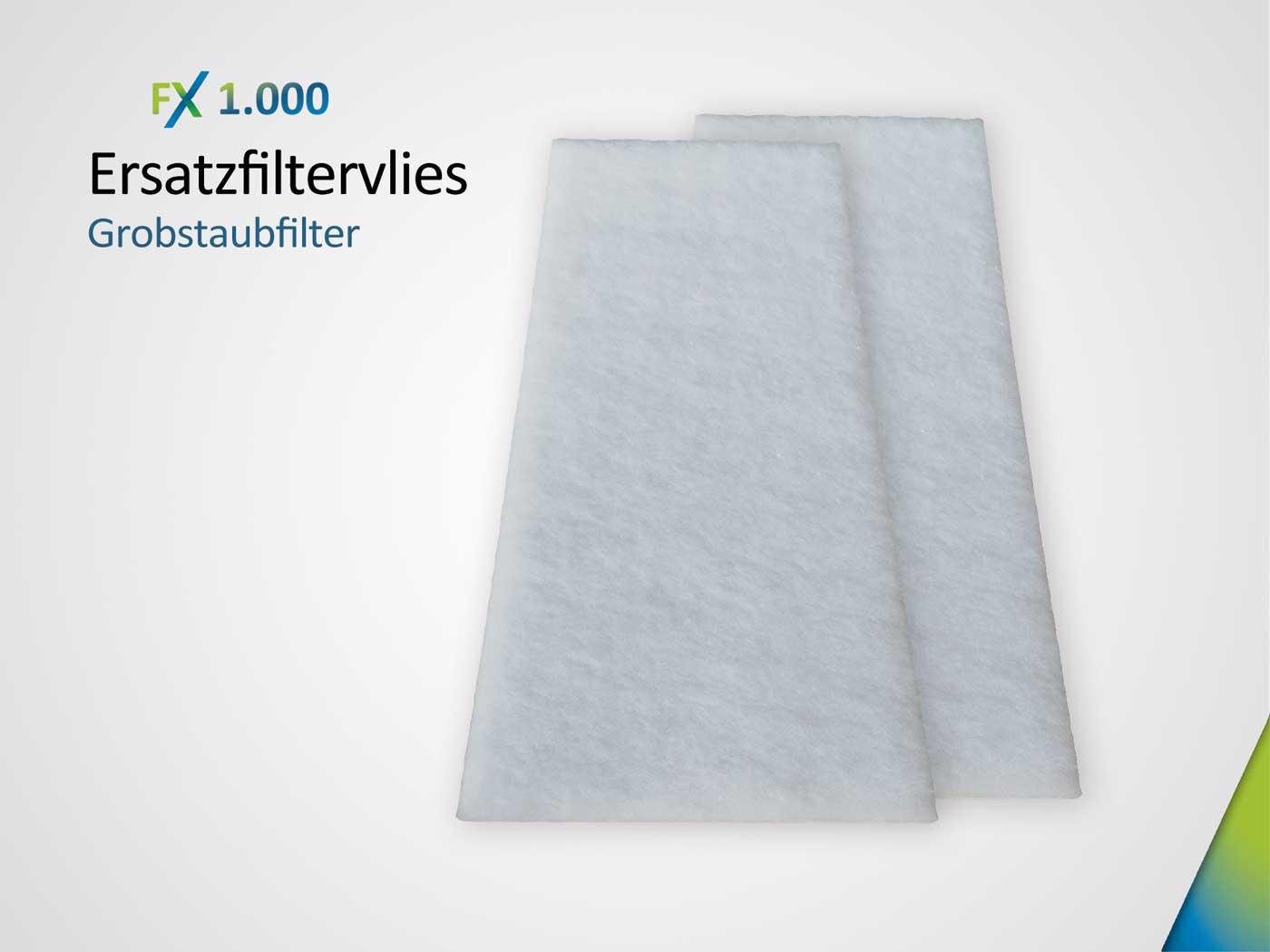 Ersatzfiltervlies bestehend aus 2 x Grobstaubfilter ISO ePM10 > 50%