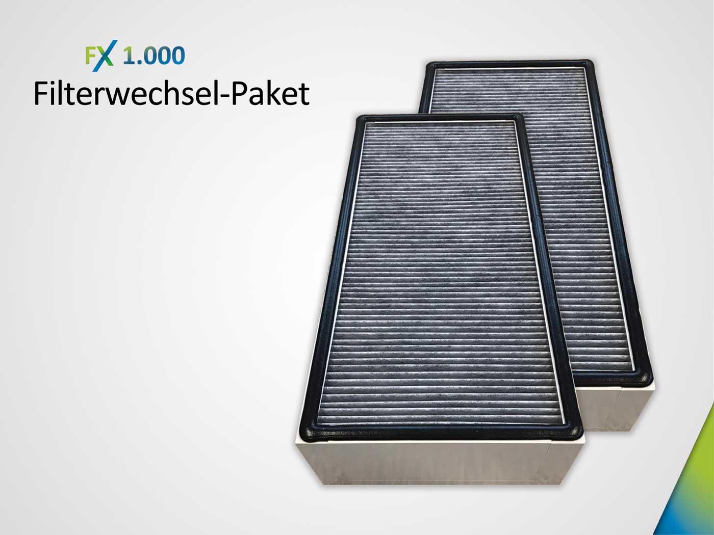 Filterwechsel-Paket bestehend aus 2 xKombifilter HEPA H14& AktivkohleAK