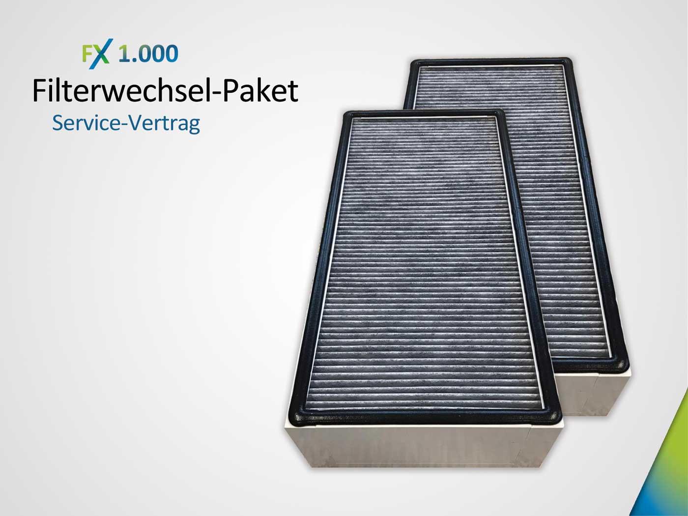 Servicevertrag Filterwechsel-Paket bestehend aus 2 xKombifilter HEPA H14& AktivkohleAK